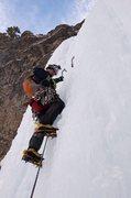 Rock Climbing Photo: Professor Falls, Canmore