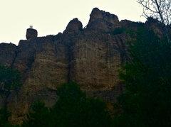 Rock Climbing Photo: On the summit of Eagle's Nest!
