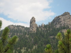 Rock Climbing Photo: The Finger (I promise a better photo later). When ...