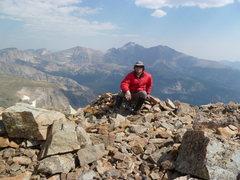 Rock Climbing Photo: On Mount Copeland, RMNP.
