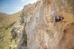 Rock Climbing Photo: The redpoint crux of Spring Loaded