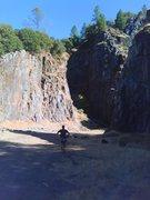 Rock Climbing Photo: afternoon sun