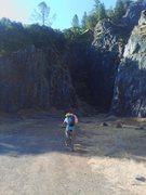 Rock Climbing Photo: morning sun
