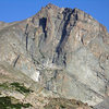Great beta shot of the east face, taken on a summit bid via no particular route.