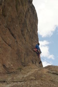 Rock Climbing Photo: Finding myself on the 11d by accident.