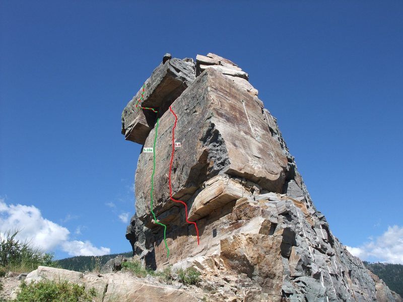 Rock Climbing Photo: Room with a view, Montana