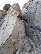Rock Climbing Photo: edge of doom