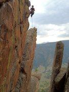 Rock Climbing Photo: Bolting HYPERDRIVE!!!!!!!!!
