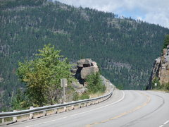 Rock Climbing Photo: room with a view, hwy 37, south of koocanusa bridg...