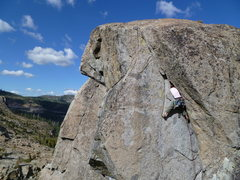 Rock Climbing Photo: Get in thar.