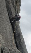 Rock Climbing Photo: The White Whale, Lumpy Ridge