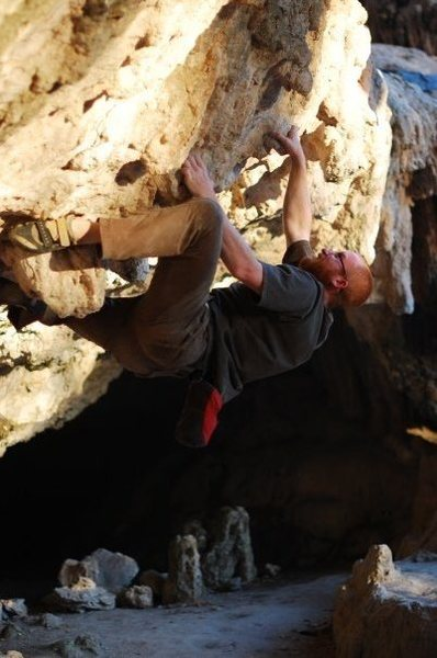 Rock Climbing Photo: Reimer's Ranch Boudlering