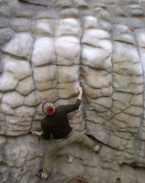 Rock Climbing Photo: HP40, Centerpede