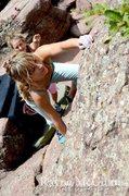 Rock Climbing Photo: Moi.