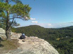 Rock Climbing Photo: Great views at Chapel Ledges.