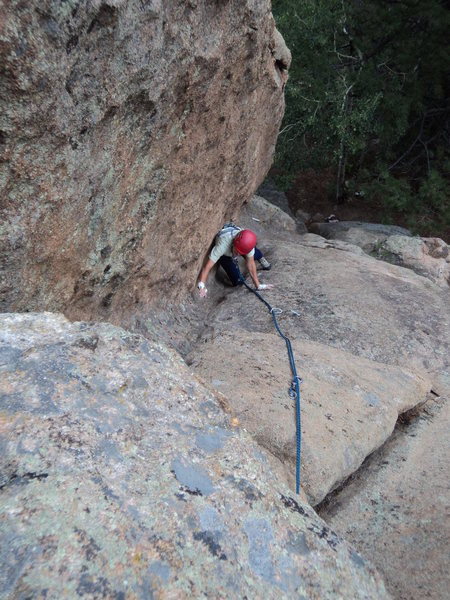 Rock Climbing Photo: Shroom Groove. P1c.