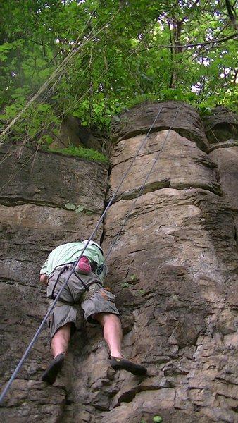 A big niño on the climb.