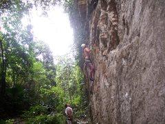 "Rock Climbing Photo: Eric Coffman onsighting ""orange"" at the ..."
