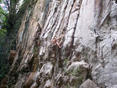 "Rock Climbing Photo: Eric Coffman onsights ""partner in climb""..."