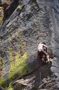 Rock Climbing Photo: Clayton on Chubby Hubby .12a