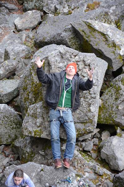 Rock Climbing Photo: Betamax!