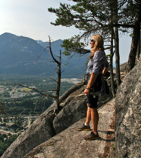 Rock Climbing Photo: View from the top