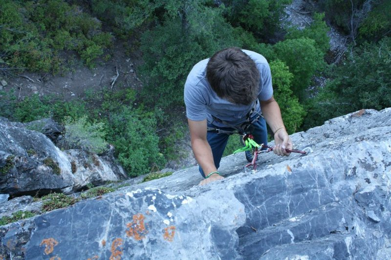 Top of climb.