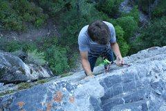 Rock Climbing Photo: Top of climb.