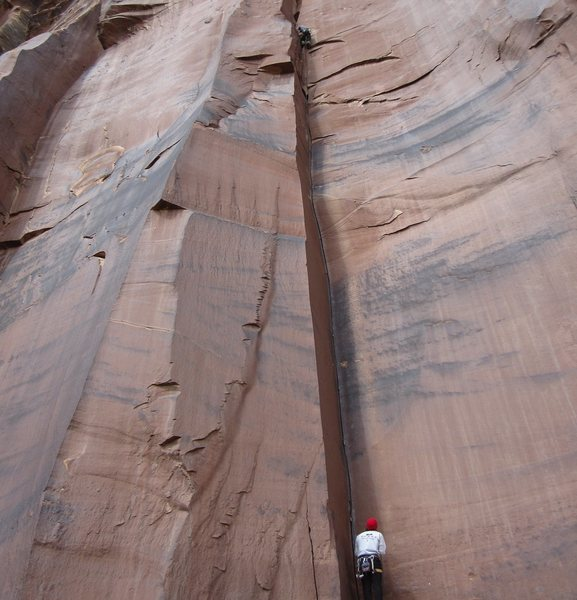 Rock Climbing Photo: Battle of the Bulge.