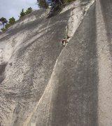 Rock Climbing Photo: Clean Crack.