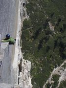 Rock Climbing Photo: Nico Favresse, Half Dome.