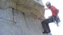 Rock Climbing Photo: Clinton Martinengo, Freeblast.