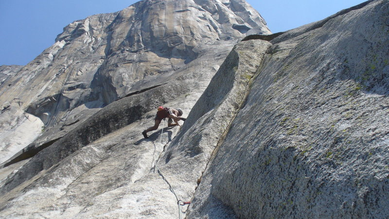 Rock Climbing Photo: El Cap.