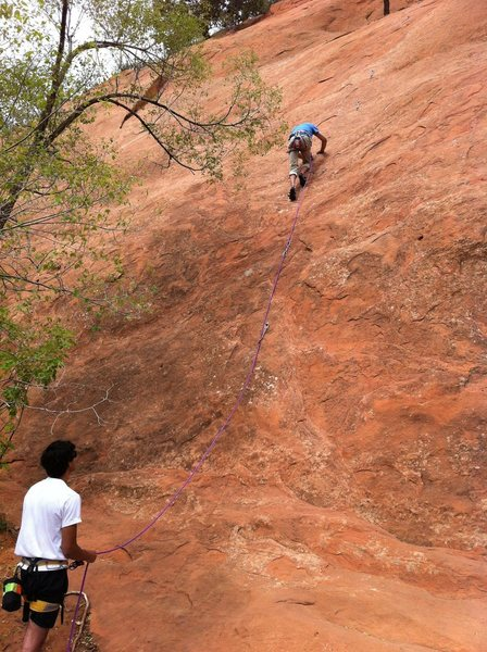 Rock Climbing Photo: Helios.