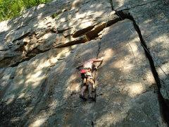 Rock Climbing Photo: very fun warm up