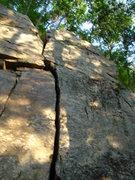 Rock Climbing Photo: right crack