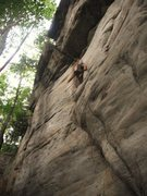 Rock Climbing Photo: Found myself Stuck In Another Dimension (5.11a). N...