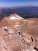 Rock Climbing Photo: Kiener's to Cable route descent. N 40.25707 W 105....
