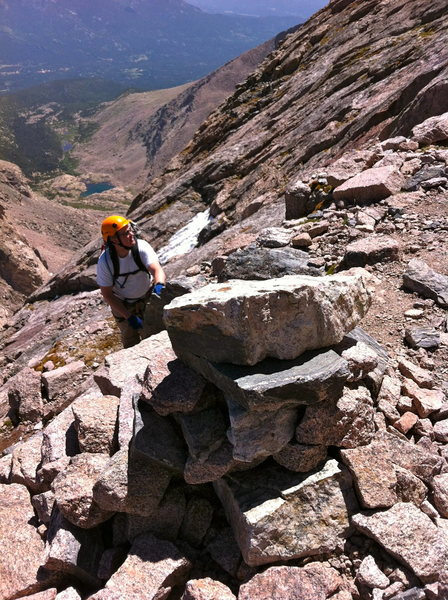 Rock Climbing Photo: N 40.25707 W 105.61643 Photos showing the white ro...