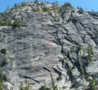 Rock Climbing Photo: Spontaneous Distraction.