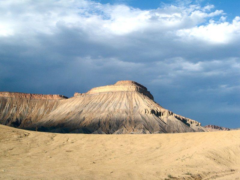 Mt. Garfield.