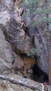 Rock Climbing Photo: A FA I wont soon forget, Eric & Darren getting it ...