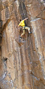 Rock Climbing Photo: Eric Deschamps working Steel Reserve...