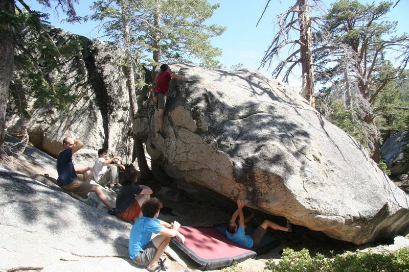 Rock Climbing Photo: Toping out