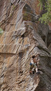 Rock Climbing Photo: Dean Hoffman on Mulligan Stew.