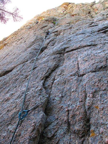 Rock Climbing Photo: Fat Lip first pitch