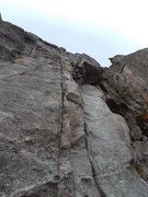 Rock Climbing Photo: Bell Buttress West Face, great warm up, Tom Jensen...