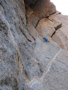 Rock Climbing Photo: Jeff about to embark on the super sweet roof of &q...