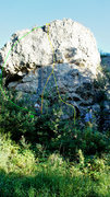 Rock Climbing Photo: We climbed Greyface Middle from either side; not m...