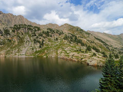 Rock Climbing Photo: Pitkin Lake.